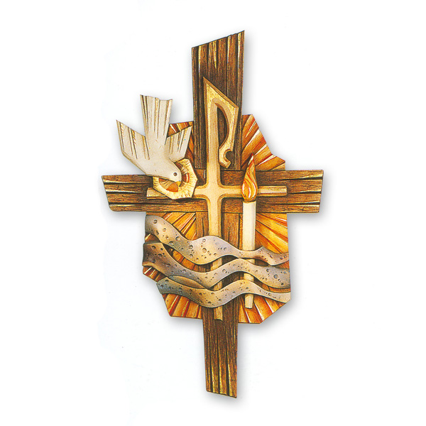 Baptismal Symbol 34 Relief In Linden Wood St Andrews Book Gift