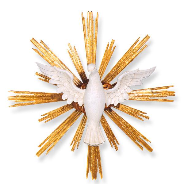 Holy Spiritdove Symbol In Linden Wood St Andrews Book Gift