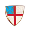 "Episcopal Shield Outdoor Plaque (9"")"
