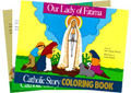 Catholic Children's Coloring Book Set (24 Books)