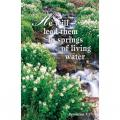 He will Lead Them to Springs of Living Water Easter Bulletin