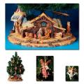 Christmas Nativity Tree Display & Stable Scene