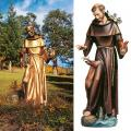 "St. Francis of Assisi & Animals Statue: Lindenwood (48"", 60"")"