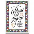 """Celebrate & Rejoice"" Baptismal Cards for Anniversary (5/Box)"
