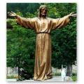 Welcoming Christ Statue in Fiberglass