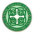 "Celtic/Irish House Blessing Door Sign (4 1/4"")"