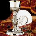 Church Sanctuary Communion Chalice & Paten