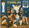 "Christmas Indoor/Outdoor ""Nativity Set"" in Vinyl Composition"
