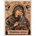 Greek Madonna Church Sanctuary Banner/Tapestry