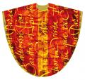 Red Chasuble for Pentecost