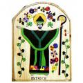 "Saint Patrick Plaque (8"")"
