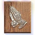 "Praying Hands Plaque (6"")"